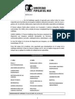 PLAN DE ESTUDIOS TECNICATURA SUPERIOR EN RADIOLOGÍA
