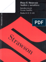 Strawson Analisis y Metafisica OCR
