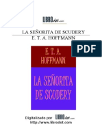 66109105 E T a Hoffman La Senorita de Scudery
