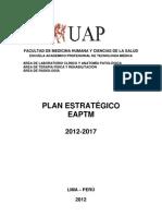 PLAN ESTRATÉGICO  DE LA EAPTM 2012 - 2017