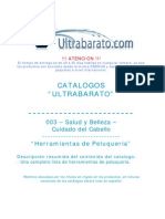 003 - Cuidado Del Cabello - Herramientas de Peluqueria - UT