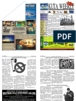 "Kuta Weekly-Edition 291 ""Bali""s Premier Weekly Newspaper"""