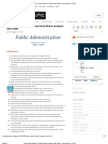 Public Administration Topicwise Mains Analysis 2001-2009 ~ Daily Notes for UPSC