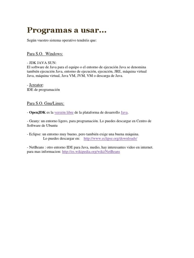 Desarrollo Virtual Con Manejo de Procesos Simultaneo y Usos de Menus ...