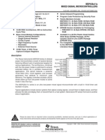 MSP430 Datasheet