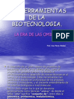 Las Herramientas de La Biotecnologia