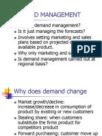 Demand Management