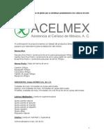 Acelmex a.c. Listado - Enero 2011