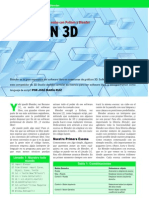 Nunca el 3D fue tan sencillo como con Python y Blender