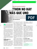 Explota el Potencial de OpenOffice con PyUno