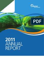 Akamai Annual Report 11
