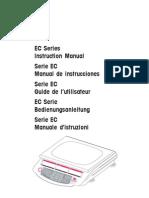 Instruction Manual EC Series de en ES FR IT 80251009 B