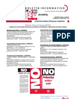 Boletín Informativo de Empleo