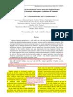 Supachai Lorlowhakarn Paper on Organic Asparagus in Thai J of Ag Sci (2008)