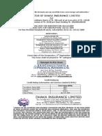Prospectus Dhaka Insurance