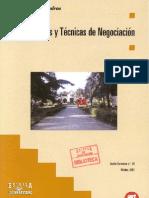 Estrategias y Tecnicas de Negociacion - UGT
