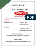 Nirav Final Project Report on Uniflex
