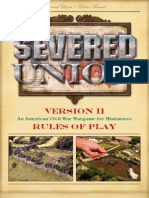 Severed Union Rulebook