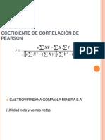 COEFICIENTE DE CORRELACIÓN DE PEARSON terminado
