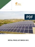 Preturi fotovoltaice