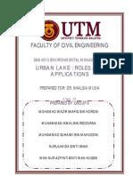 Urban Lake - Roles & Applications