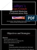 Crispy Crunch Integrated Marketing Communications Plan3148