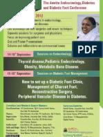 Amrita Endrocrinology, Diabetes Foot Confrence
