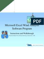Excel Wind Analysis Present