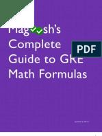 Magoosh GRE Math Formula eBook