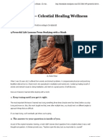 9 Powerful Life Lessons From Studying with a Monk « Dr Akilah El – Celestial Healing Wellness Center