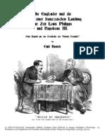 1908 DANIELS Emil. Entente Cordiale Und Die Gefahr einer Franzosischen Landung zur Zeit Louis Philipps und Napoleons III