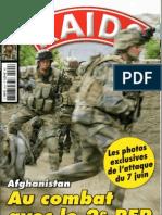 Au combat avec le 2REP,RAIDS N°290,2010.júli.