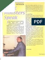 Ruby Magazine - New Worship Styles - q3 - 2003