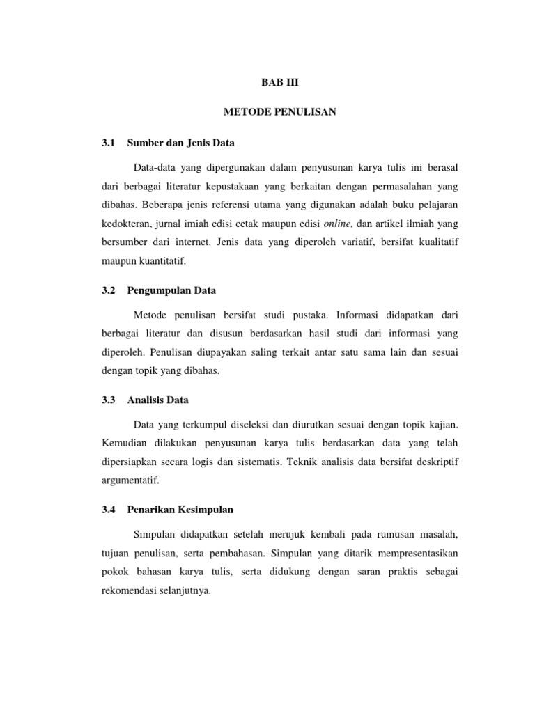 4 Bab Iii Metode Penulisan