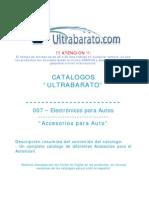 007 - Electronicos Para Autos - Accesorios Para Auto - UT