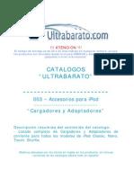 003 - Accesorios Para iPod - Cargadores y Adaptadores - UT