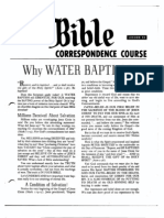 AC Bible Corr Course Lesson 25 (1960)
