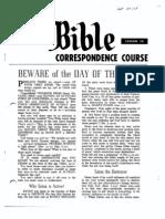 AC Bible Corr Course Lesson 30 (1963)