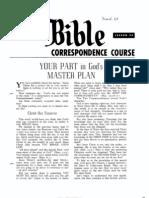AC Bible Corr Course Lesson 34 (1964)