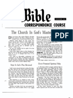 AC Bible Corr Course Lesson 35 (1964)