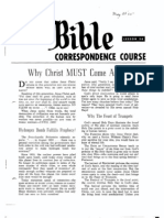 AC Bible Corr Course Lesson 36 (1964)