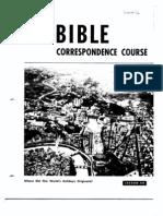AC Bible Corr Course Lesson 40 (1965)