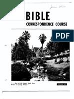AC Bible Corr Course Lesson 47 (1967)