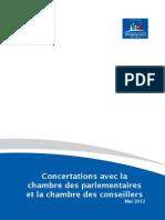 Rapport Concertations Avec Les Chambres Du Parlement VF