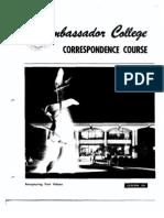 AC Bible Corr Course Lesson 58 (1970)