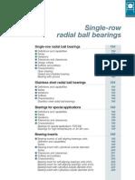 08- Rulment Radial Cu Un Rand de Bile