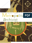 Metropolitan Archivist, Vol. 18, No. 2
