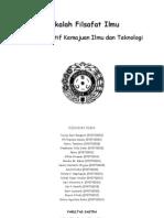 Makalah Filsafat Ilmu 'Dampak Positif Kemajuan Ilmu Dan Teknologi'