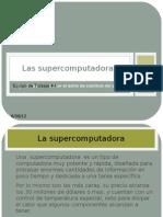 presentacion Supercomputadoras