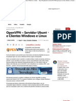 Blog do Nerd » OpenVPN – Servidor Ubuntu e Clientes Windows e Linux